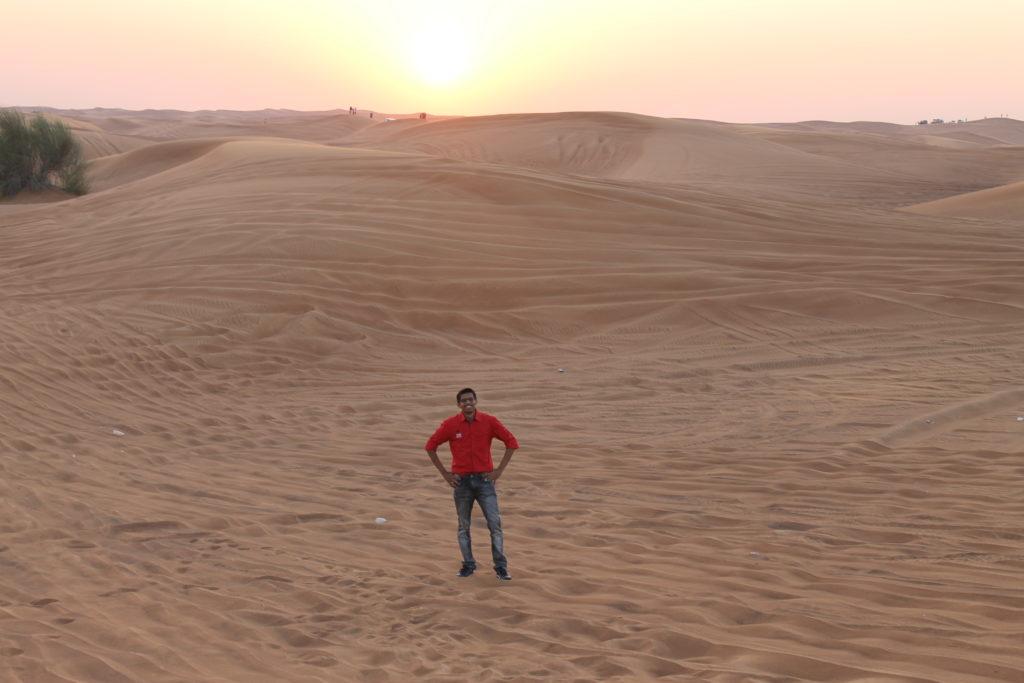 Shubham Wagh - desert safari